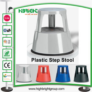Different Colours Warehouse Heavy Duty Steel Mobile Kick Stool pictures & photos
