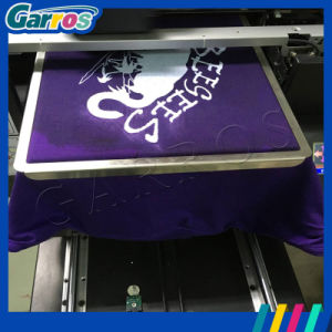 Garros 2016 A3 Digital Inkjet Textile Printing Machine T-Shirt Flatbed Printer pictures & photos