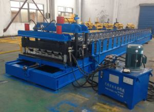 Galvanized Steel Glazed Tile Roof Panel Roll Forming Machines pictures & photos