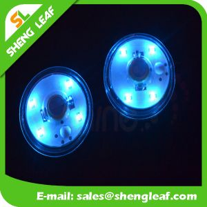 Promotional LED Custom Acrylic Coaster (SLF-LC014) pictures & photos