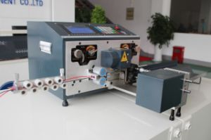 Bzw-228+N Computerized Cutting, Stripping and Twisting Machine for Double Wires pictures & photos