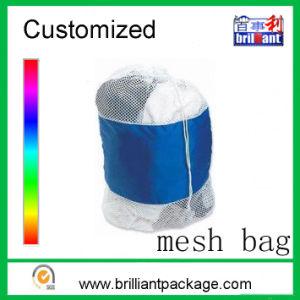 Cheap Nylon Drawstring Mesh Bag Clothing Bag pictures & photos