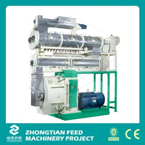 Double Conditioner Fish Poultry Livestock Feed Pellet Machine pictures & photos
