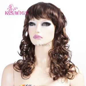 New Arrival Japanese Kanekalon Fashion Synthetic Wig pictures & photos