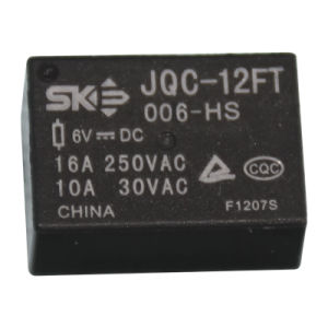 6V, 10A, 1form a Power Relay (JQC-12FT)
