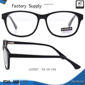 Original Unisex Best Acetate Eyeglass Frames with Double Colors