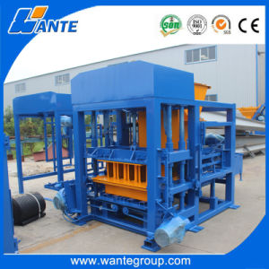 Qt4-18 Stationary Durable Concrete Block Making Machine pictures & photos