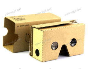3D Virtual Reality Glasses Vr Box 350g High Quality Cardboard Paper pictures & photos