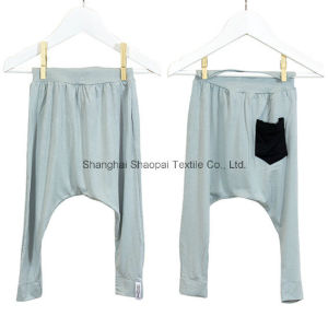 Kids Basic Harem Pant in Bamboo Material (OEM) pictures & photos