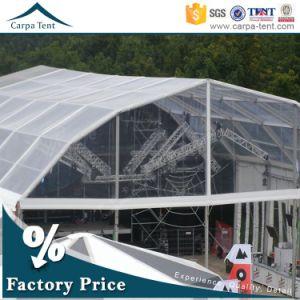Wind Resistant 25X30m Design Big Exhibition Polygon Window Tent for Outdoor Activities pictures & photos