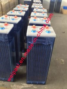 2V350AH OPzS Battery, Flooded Lead Acid battery that Tubular Plate UPS EPS Deep Cycle Solar Power Battery VRLA Battery 5 Years Warranty, >20 years Life pictures & photos