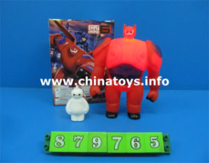 New Design Flashing Light Baymax Plastic Toys for Kids (879765) pictures & photos