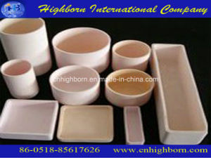 High Qyality Refractory Corundum Crucible for Laboratory pictures & photos