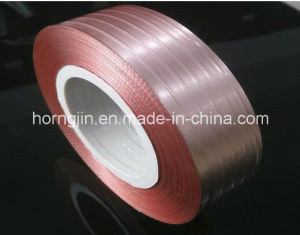 Electrical Conductive Copper Foil Laminated Coating Polyester Mylar Cu Pet Tape for Cable pictures & photos