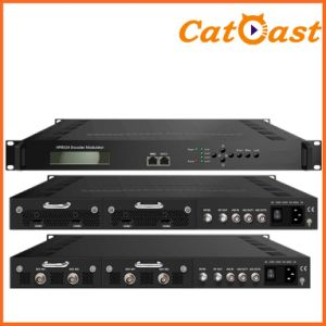Low Latency AC3 Audio with HDMI Input and RF Output HD Encoder Modulator pictures & photos