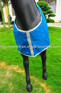 420d Stable Waterproof Turnout Horse Blanket pictures & photos