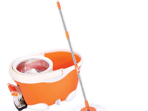 Durable Best Sell Long Mop Handle Spin Mop Hdr-M014b-B