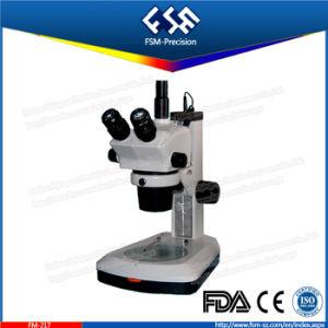 FM-217 Trinocular Head Teaching Zoom Stereo Microscope