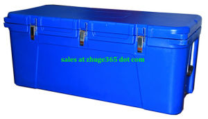 Blue 120litre Premium Cooler Box for Hunting Camping