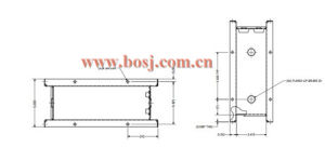 Rectangular Automatic Electric Opposed Blade Air Volume Control Valve Damper Roll Forming Machine Vietnam pictures & photos
