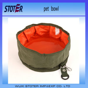 Toprank Collapsible Dog Bowl, Portable Folding Travel Dog Pet Food Water Bowl pictures & photos