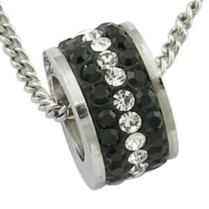 Black Stone Bead CZ Bead Stainless Steel Pendant pictures & photos