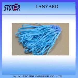 Single Custom Lanyards/Nylon Lanyards/Woven Lanyards pictures & photos