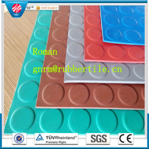 Fire-Resistant Rubber Flooring, Hospital Rubber Flooring, Airport Rubber Floor pictures & photos