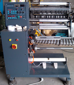 Automatic Label Slitting Machine Interchangeable Rewinding Shaft (FQ-320/420) pictures & photos