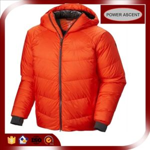 2015 Unisex Heavy Fully Orange Sports Winter Down Jacket pictures & photos