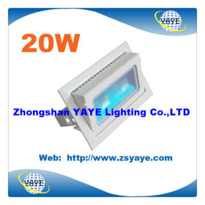Yaye 2016 Hot Sell Waterproof IP65 COB 20W Bathroom LED Light / Bathroom LED Lamp/ Waterproof LED Downlight pictures & photos