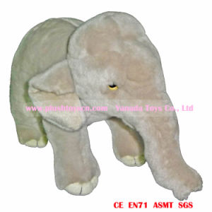 New Standing Asian Elephant Plush Toys