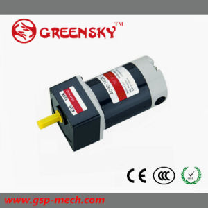 GS High Efficient 40W 90mm High Voltage Brushless DC Gear Motor pictures & photos