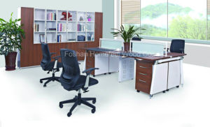 Fashion 4 Person Seats Work Station with Desktop Partition (HF-E546) pictures & photos