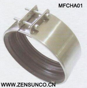 Type Cha Coupling High Quality Galvanized Steel Hose Clamp pictures & photos