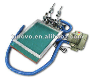 Manual C-Vacuum Screen Press pictures & photos