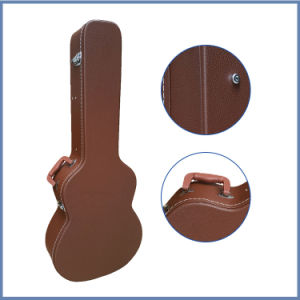 Leather Carrying Case for Guitars pictures & photos