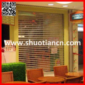 Auto Electric Commercial Roller Shutter Door (ST-002) pictures & photos