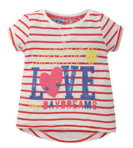 Fashion Baby Toddler Clothes in Children Garment for T-Shirt Dress pictures & photos