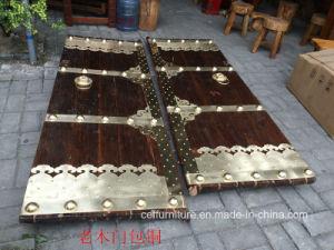 Customized Antique Copper Wood Door