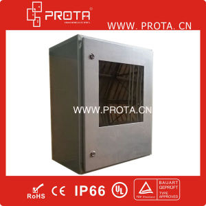 Stainless Steel Electrical Distribution Box with Glass Door pictures & photos