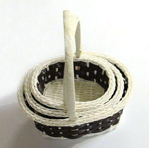 3PCS/Set Braided Flower Basket/Decoration Basket pictures & photos