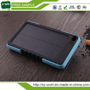 Waterproof Real Capacity 8000mAh Solar Power Bank Charger pictures & photos