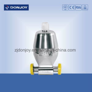 Plastic Actuator Pneumatic Diaphragm Valve with Clamp Ends pictures & photos