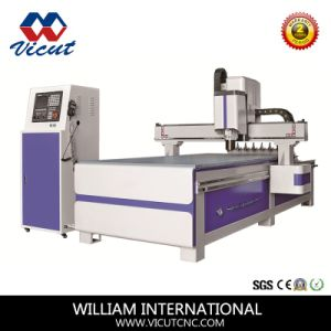 CNC Auto Tool Change Wood Carving Machine Wood Router (VCT-W1325ATC8) pictures & photos