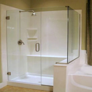 Corian Tub Surround Kit. Cool Stone Solid Surface Wall Panels In A ...