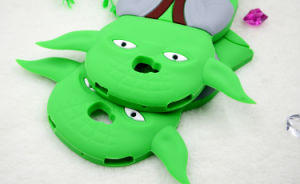 Green Weirdoc Silicone Cartoon Phone Case for Samsung G530 J5 J7 J510 Huawei P9 (XSY-026) pictures & photos