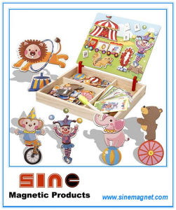 Variety Dress up Magnetic Wooden Change Clothes Puzzle Toys pictures & photos