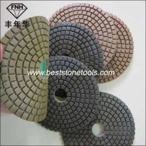 Dd-9 Diamond Dry Resin Pad for Concrete Helded Polishing Machine pictures & photos
