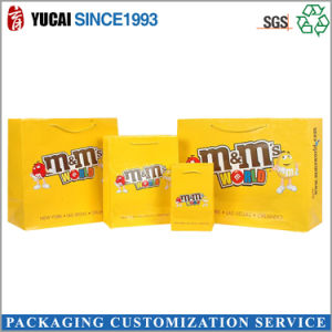 M&M Paper Shopping Bag Packing Bag pictures & photos